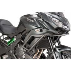 Versys 650 2015 - 2019 Kawasaki pare carters noir