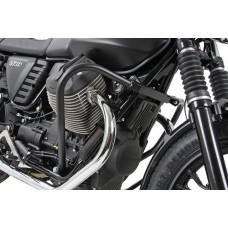 V 7 II 2015-Moto Guzzi pare cylindres- carter noir