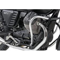V 7 II 2015-Moto Guzzi pare cylindres- carter chrome