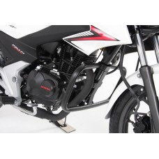 CB 125 F 2015-2020 Pare carter pour le Honda en noir