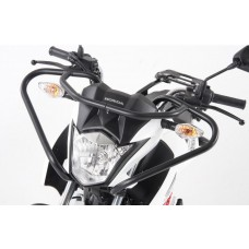 CB 125 F 2015- Honda protection guidon auto-moto ecole en noir