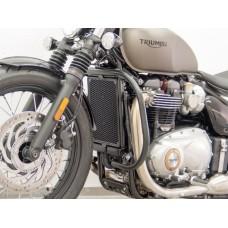 Bonneville Bobber 2017- Triumph pare carter-cylindres noir