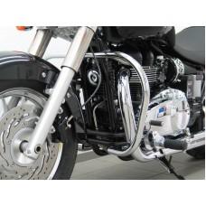 Bonneville Speedmaster 2008- / America 2007- Triumph pare carter-cylindres chromé