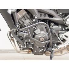 MT 09 + Tracer 2017- Yamaha pare carter de Fehling en noir