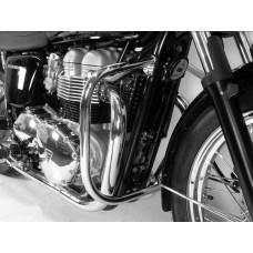 Bonneville T100 / SE Triumph pare carter-cylindres chrome