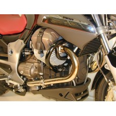 Breva 850 - Breva 1100 - Breva 1200 Pare cylindres Hepco becker  pour Moto Guzzi Breva en noire