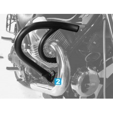 C 940 Bellagio / Aquila Nera: Moto Guzzi pare cylindres pare carters en noir