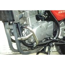 ER 5  Kawasaki  pare carters - protection moto en chromé