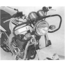 GS 500 E 2001> Suzuki protection moto ecole guidon