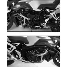 K 1200 R / Sport  BMW pare carter-pare cylindres en noir ou argent