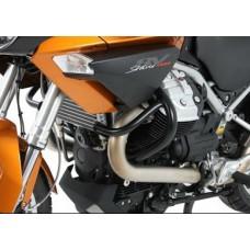 Stelvio / NTX 1200 Moto Guzzi pare carter-cylindres en noir
