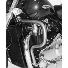 Thunderbird 1600 TRIUMPH pare cylindres et pare-carter protection en chrome