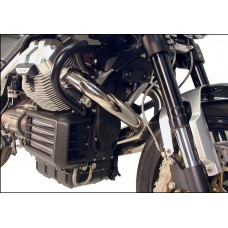 Griso 850 / Griso 1100 / Griso1200  Moto Guzzi  pare carter et cylindres de hepco becker en noir.
