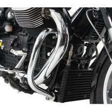 California Custom 1400 - 2013 Pare cylindres et pare carter  Moto Guzzi Custom 1400 en chrome