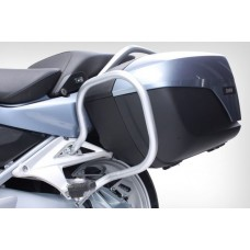 R 1200 RT LC 2014- Protections valises en argent.