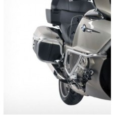 K1600GT / K 1600 GTL BMW ARCEAUX  DE PROTECTION VALISES en argent.