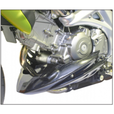 Gladius SFV650 Suzuki Sabot moteur en noir mat avec kit deco
