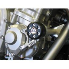 """GSF 650 Bandit 2007-2016 : Suzuki paire de Tampons de protection carter moto """"X pads"""""""
