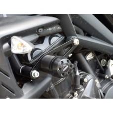 Daytona 675 / R 2006-2013 Triumph paire de tampons de protection moto
