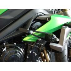 Street Triple 675/R 2013-16 Triumph paire de tampons de protection moto Triumph