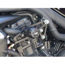 Speed Triple T509-T955i -1050 (99-10)  Triumph paire de tampons de protection moto Triumph