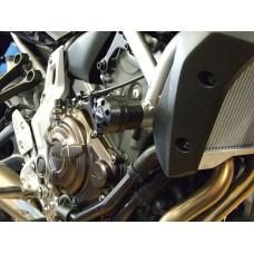 MT 07 2 tampons de protections carter moto Yamaha