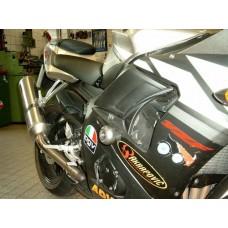 R6 2003-2005 Yamaha  2 tampons de protection Système 'X Pads' avec ammortisseur