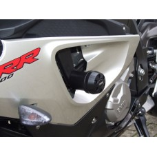S 1000 RR 2009-2012 BMW 2 Tampons de protections X pads carter Moto BMW
